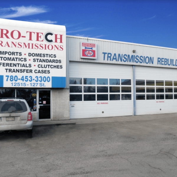 pro-tech transmissions shop back
